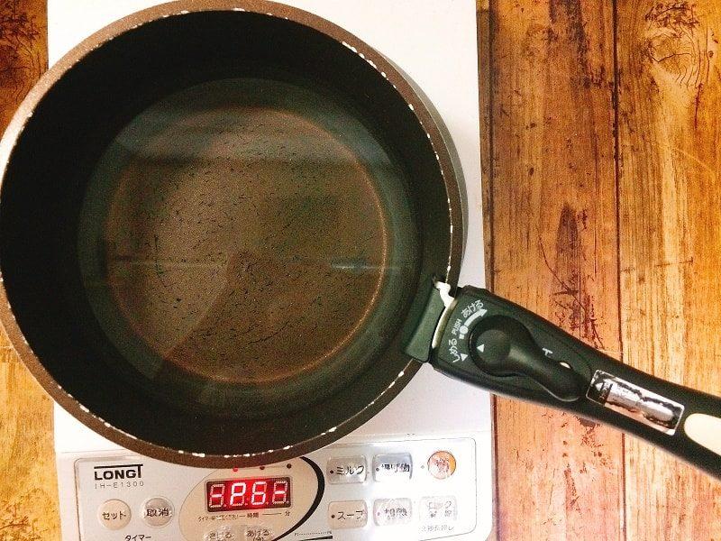 白湯 作り方 鍋12