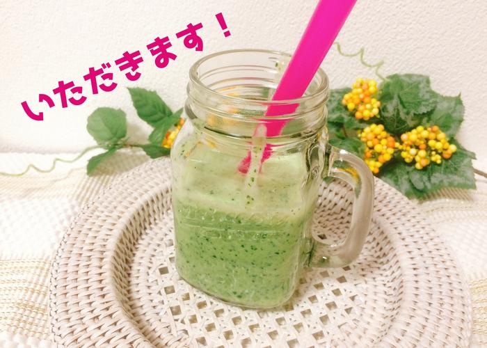 圧倒的グリーンスムージーレシピ 小松菜の画像2