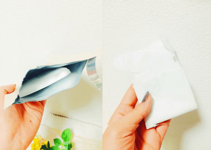 プロ愛用の手袋型ハンドケアのおすすめのやり方・開封画像1